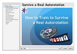 Survive a Real Autorotation