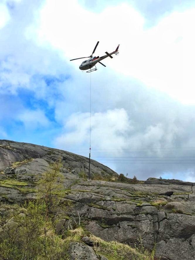 Flew 12 powerpoles yesterday.